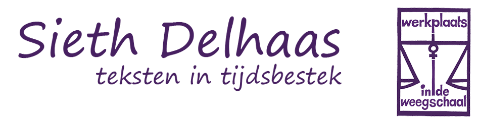 Sieth Delhaas - teksten in tijdsbestek