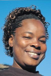 Beatrice Odhiambo, een geportretteerde vrouw in Weerbarstig erfgoed - foto Paul de Schipper