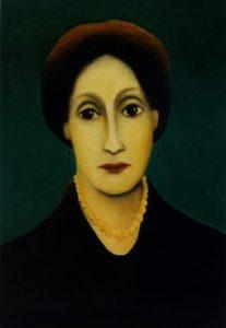 Virginia Woolf van Chrisje van der Heijden-Ronde, 1999